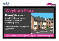 Weyburn Place Ramsgate CT12 6JY 2 and 3 bedroom homes for ...