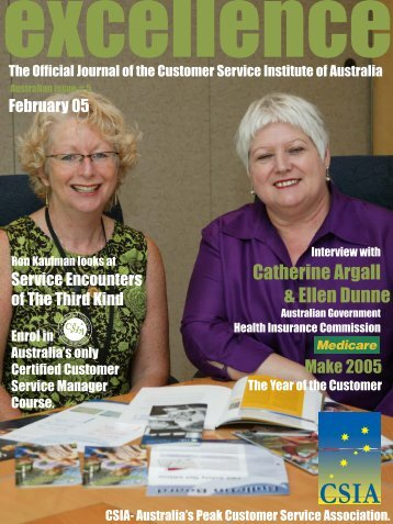 Issue 5 - Customer Service Institute of Australia