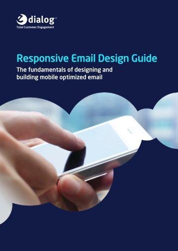 Responsive Email Design Guide - e-Dialog