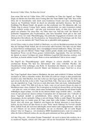 Rezension von Dipl.Päd. Matthias Otterbein - Synergia Verlag