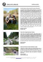 USA, UK and JAPAN Testimonials (.pdf) - Salvelinus, Fishing ...