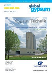 Global Gypsum Magazine - May-June 2012