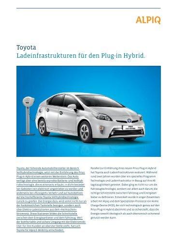 Partner Toyota: Factsheet PDF - Alpiq InTec
