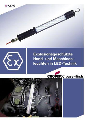 Maschinenleuchten - Cooper Crouse-Hinds