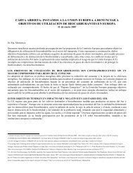 carta abierta - Carbon Trade Watch