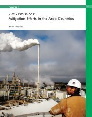GHG Emissions: Mitigation Efforts in the Arab Countries