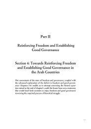 Chapter 7 - Arab Human Development Reports