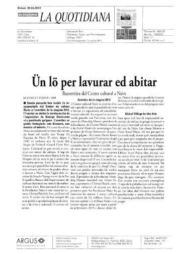 LA QUOTIDIANA - Nairs
