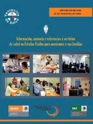 Ventanillas de salud - Mexico Border Health Commission