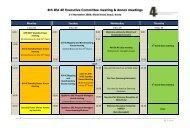 4th IEA 4E Executive Committee meeting & Annex meetings