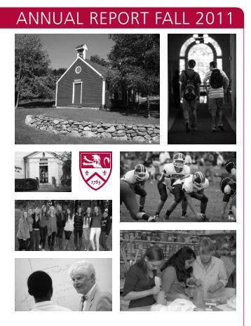 ANNUAL REPORT FALL 2011 - The Governor's Academy