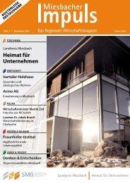 Miesbacher Impuls - Dezember 2008 - SMG