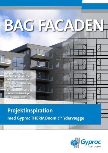 "Download ""Bag Facaden"" - Projektinspiration - Gyproc"