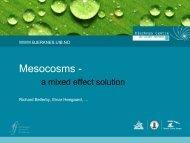Mesocosms - - meece