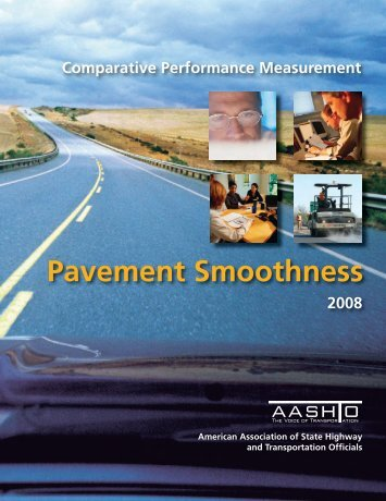 Comparative Performance Measurement: Pavement Smoothness
