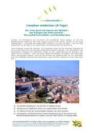 Lissabon – Auf den Spuren der Entdecker