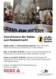 flyer - Netzwerk Schweiz für einen gerechten Frieden in Palästina ...