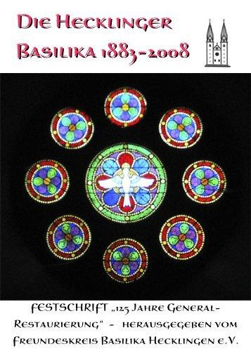Die Hecklinger Basilika 1883-2008 - Basilika St. Georg und ...