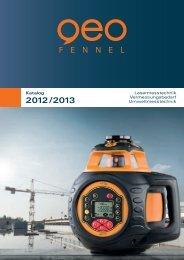 2012/2013 - geo-FENNEL GmbH
