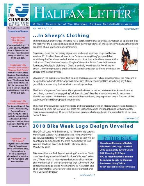 ...In Sheep's Clothing 2010 Bike Week Logo Design Unveiled