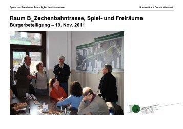 Raum B_Zechenbahntrasse, Spiel- und Freiräume - Soziale Stadt ...
