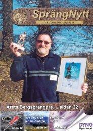 SprengNytt Nummer 1_2001.pdf - Orica Mining Services