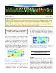 Aug 2012 - The World AgroMeteorological Information Service