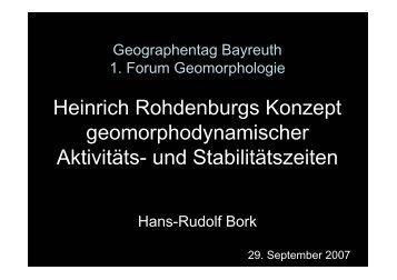 Heinrich Rohdenburg