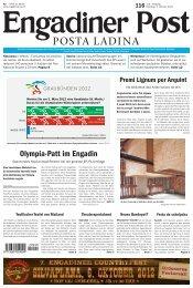 Engadiner Post Nr. 116 vom 02. Oktober 2012