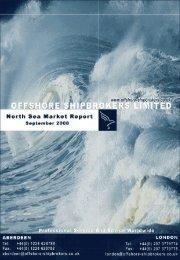 September 2008 North Sea Market Report - Offshore Shipbrokers