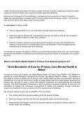 The Welsh Declaration for Mental Health and Well-being - Page 2
