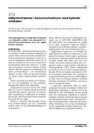 Udbyttestrømme i koncernstrukturer med hybride ... - Corit Advisory