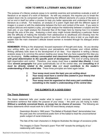 product  literary analysis essay p  achieve