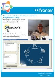How are you and other schools across the world using Elluminate ...
