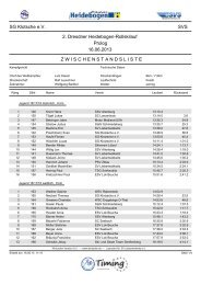 DM Rollski 2013 Radeburg Prolog - Xc-Ski