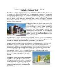 apec smart buildings – development of best practices ... - ESCI KSP