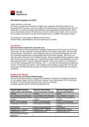 Newsflash Ausgabe Juni 2010 Top-Thema Angebot des Monats