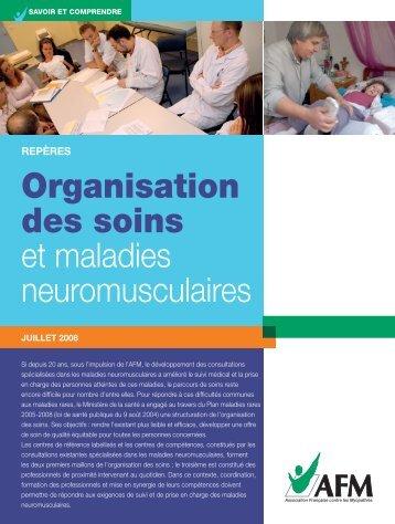 Organisation des soins et maladies neuromusculaires