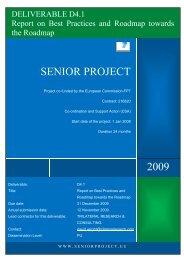 senior - WELCOME TO e-Europe Research & Development Centre ...