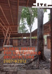 Global Award 2007-2012 - biographies - Cité de l'architecture & du ...