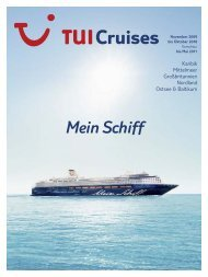 TUI CRUISES - Mein Schiff - 2009/2010 - tui.com - Onlinekatalog