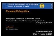 Patologia das Carótidas - H.U.C.