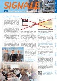 Kundenzeitschrift Signale - Raiffeisenbank Ried eG
