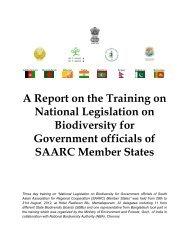 Report - National Biodiversity Authority