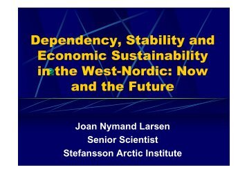 Dependency, Stability