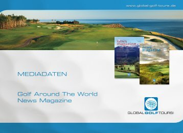 MEDIADATEN Golf Around The World News Magazine