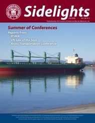 Fall 2008 Issue - Council of American Master Mariners