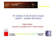 CP violation in the B and D meson system – present and future ... - F9