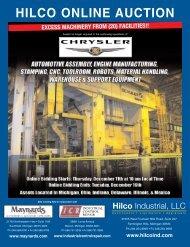 HILCO ONLINE AUCTION - Maynards Industries