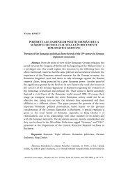 portrete ale oamenilor politici români de la sfârşitul secolului al xix ...
